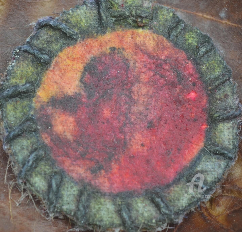 Mariska Ma Veepilaikaliyamma - Unique Snake Goddess Painting - Amulet #1
