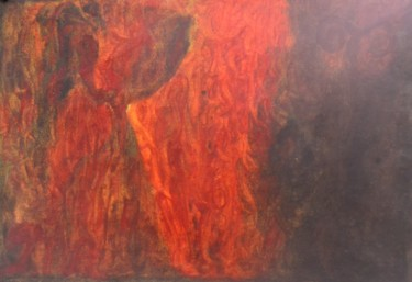 Cave Goddess, Dancing Flames of Transformation and New Moon