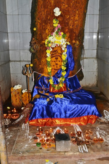 Sacred Neem Tree Mother Shrine