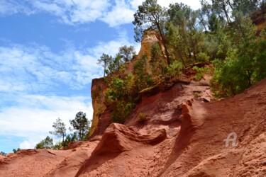 Falaises d'Ocre Roussillon